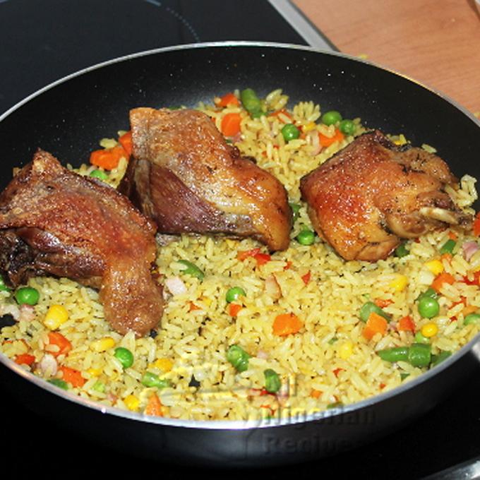 ricetta fried rice quadrata